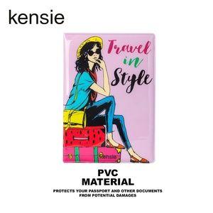 NWT KENSIE RFID PASSPORT CASE TRAVEL IN STYLE